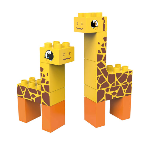 Wildlife 2in1 Giraffe and Deer (Steppe) - souzu.co.uk