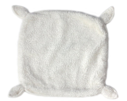 Cream Faux Fur Blankie - souzu.co.uk