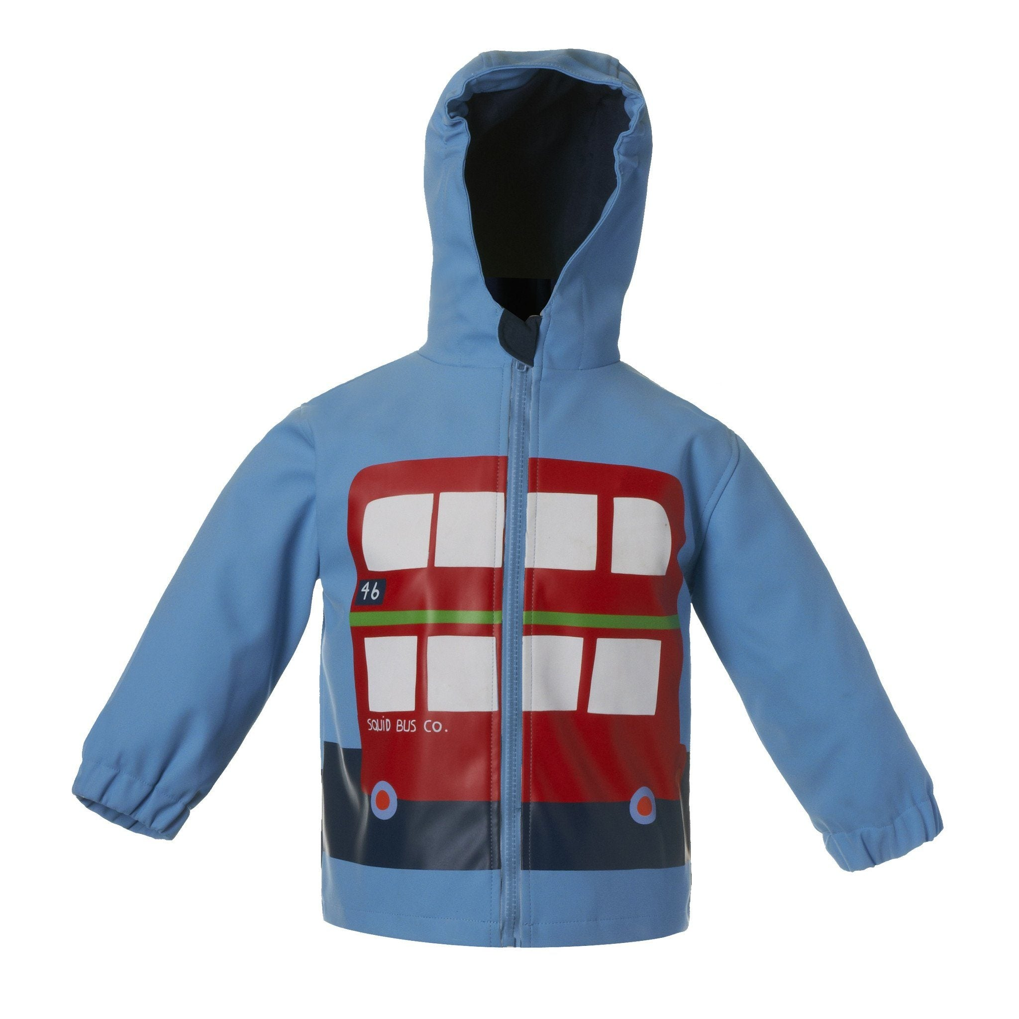 London Bus Colour Changing Raincoat - souzu.co.uk