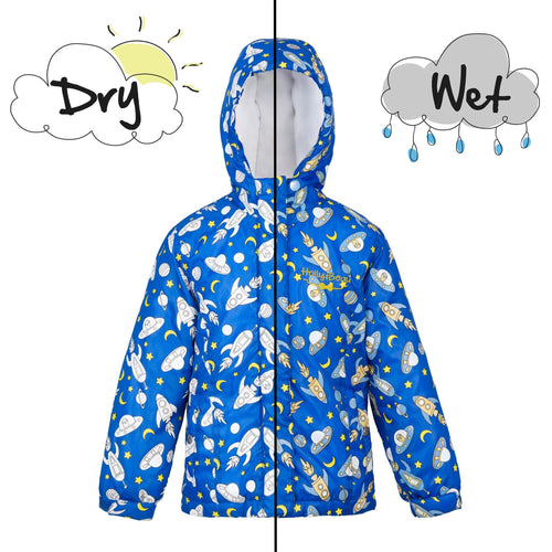 Boys Rocket Raincoat - souzu.co.uk