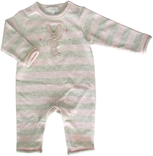 Bunny Star Applique Babygrow - souzu.co.uk