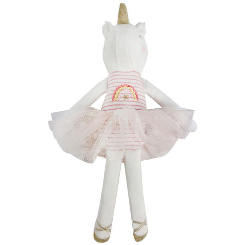 Cotton Velvet Midi Unicorn Toy