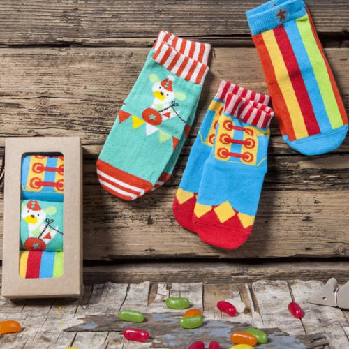 Circus Sock Gift Set* - souzu.co.uk