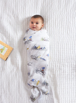 Winnie the Pooh Swaddle Pack of 4