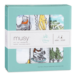 Winnie the Pooh Muslin - pack of 3 - souzu.co.uk