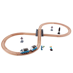 Figure of 8 Safety Set Train Railway - souzu.co.uk