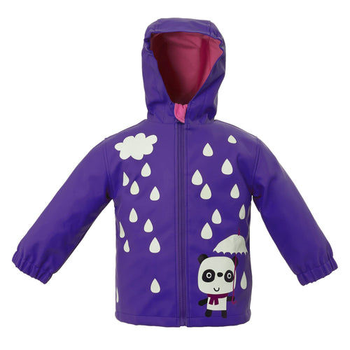 Panda Colour Changing Raincoat - souzu.co.uk