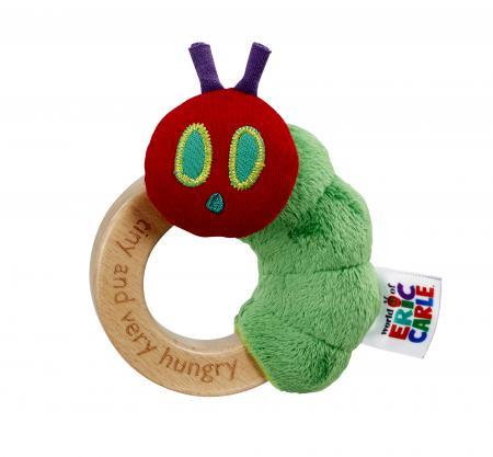 Tiny Caterpillar Ring Rattle - souzu.co.uk