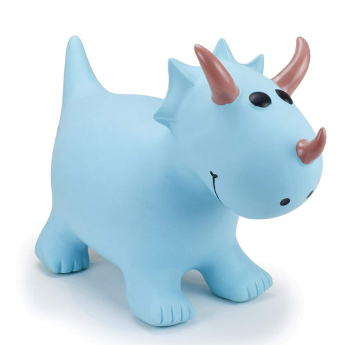 Turquoise Triceratops