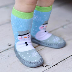 Snowman Moccasins - souzu.co.uk