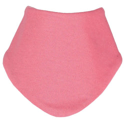 Reversible Organic  Raspberry Dribble Bib - souzu.co.uk