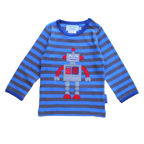 Robot Long Sleeved T-Shirt