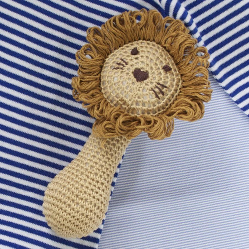 Lion Rattle - souzu.co.uk