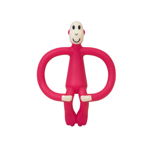 Red Monkey Teether - souzu.co.uk