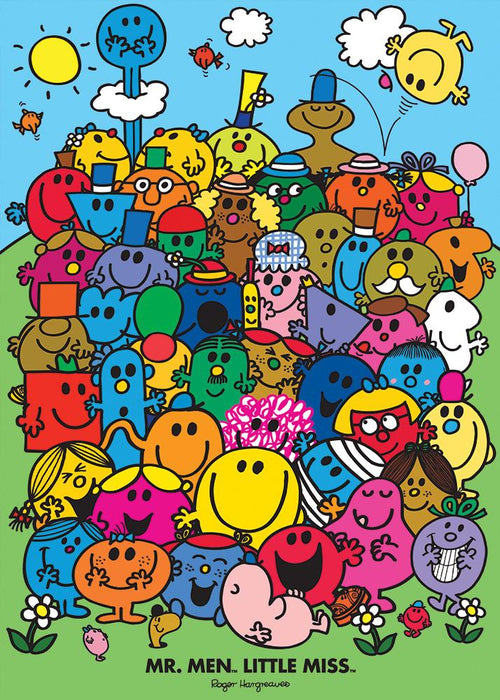 Mr Men Group Gift Wrap - souzu.co.uk