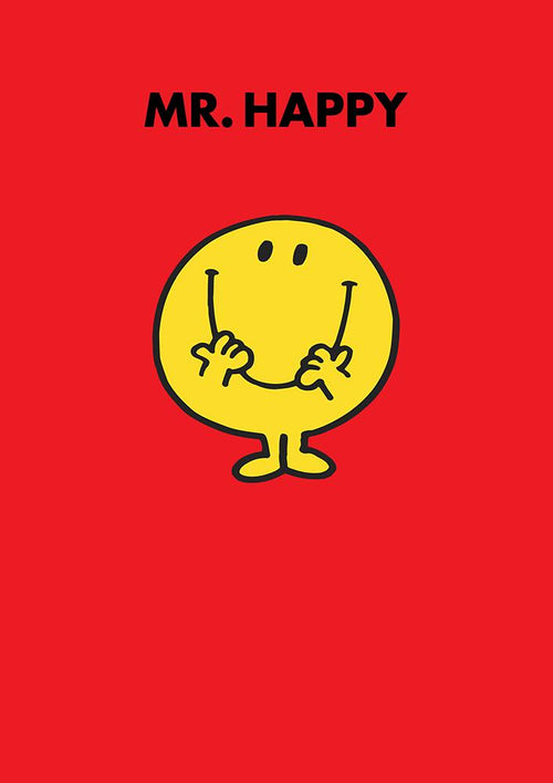 Mr Happy Birthday Card