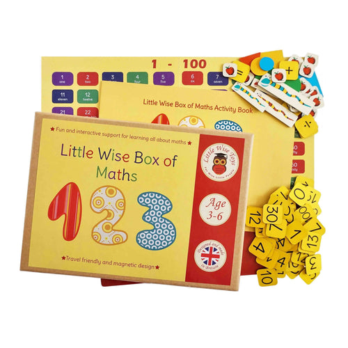 Little Wise Box Of Maths - souzu.co.uk