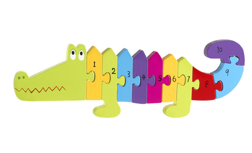 Number Crocodile Puzzle - souzu.co.uk