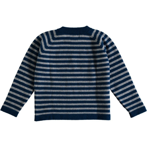 Striped Cashmere Jumper - souzu.co.uk