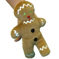 Gingerbread Man Walking Finger Puppet - souzu.co.uk