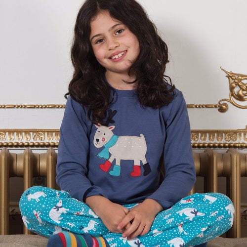 Reindeer Pyjamas - souzu.co.uk