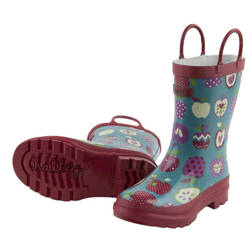 Apples Orchard Rainboots - souzu.co.uk