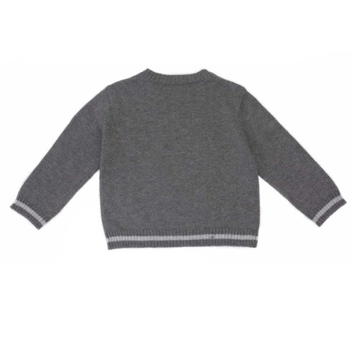 Rocking Horse Jumper - Charcoal - souzu.co.uk