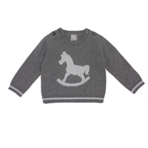 Rocking Horse Jumper - Charcoal