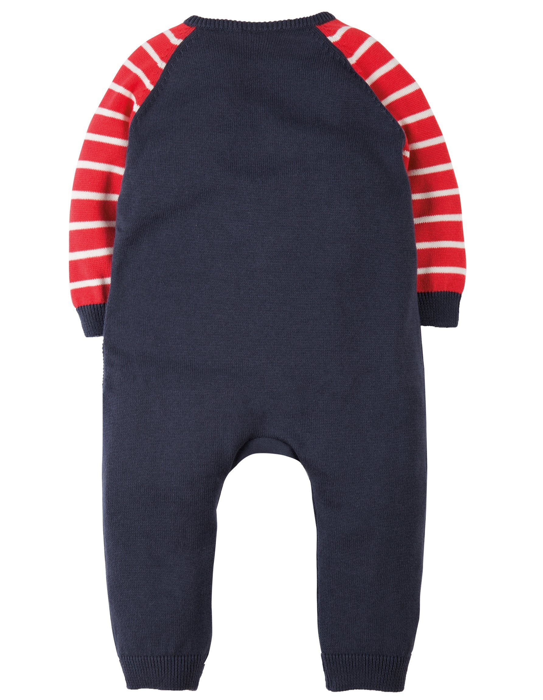 d431b5df6 Frugi Tractor Knitted Romper