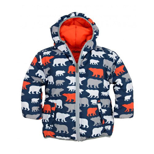 Polar Bear Reversible Puffer - souzu.co.uk