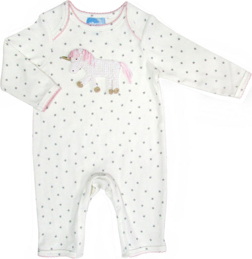 Unicorn Babygrow - souzu.co.uk