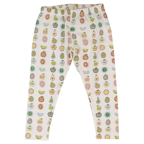 Fruit Print Leggings - souzu.co.uk