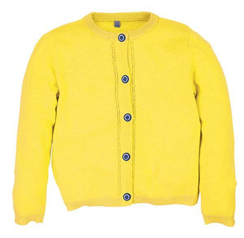 Yellow Cardigan - souzu.co.uk