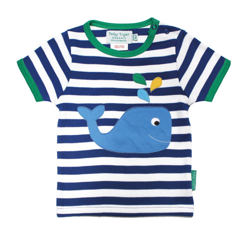 Whale Short Sleeved Top
