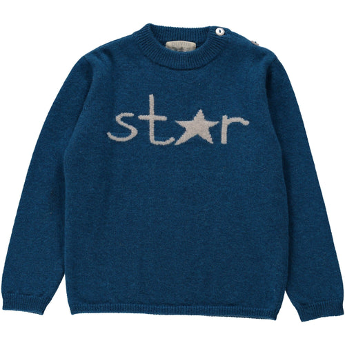 Star Cashmere Jumper - souzu.co.uk