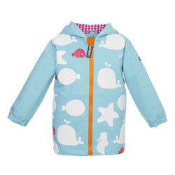 Starfish Colour Changing Raincoat - souzu.co.uk
