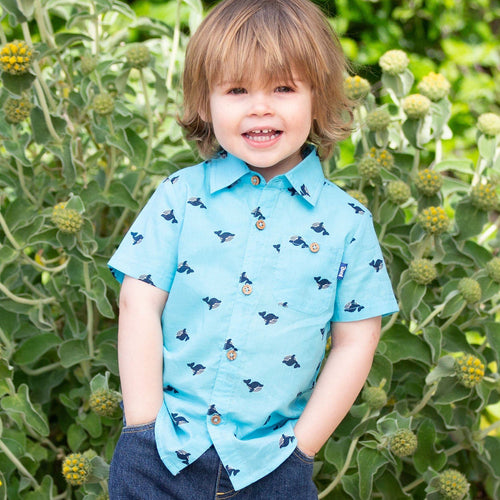 Wonder Whale Shirt - souzu.co.uk