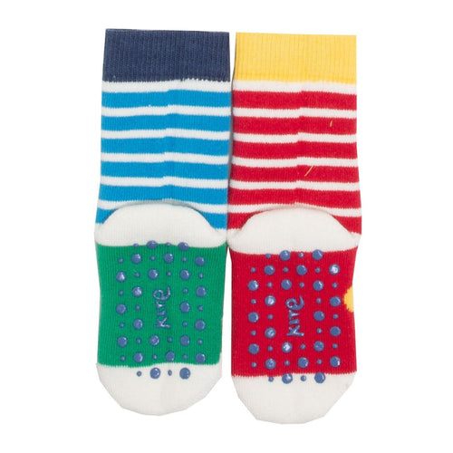 Sheep and Giraffe 2 pack of Grippy Socks - souzu.co.uk