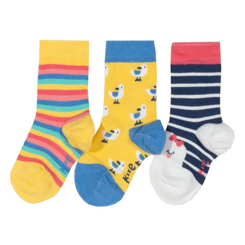 3 pack seagull socks - souzu.co.uk