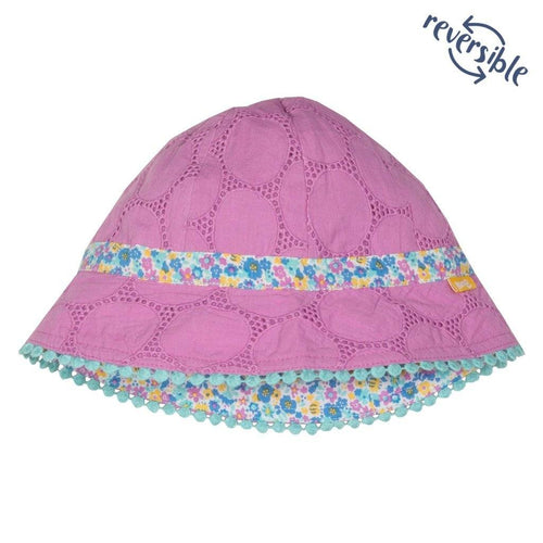 Broderie sun hat - souzu.co.uk