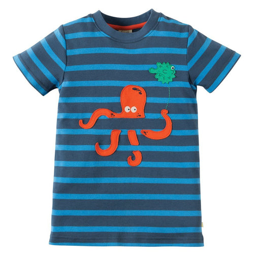 Ollie the Octopus Applique Top - souzu.co.uk