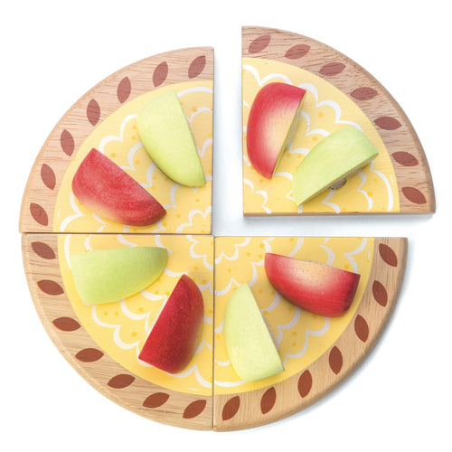 Apple Tart Wooden Play Set - souzu.co.uk