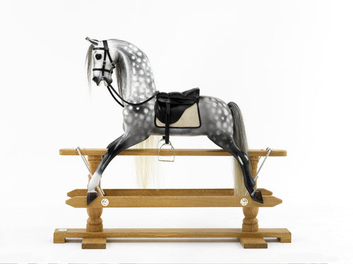 The Steel Grey Rocking Horse