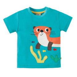 Otter Applique Top - souzu.co.uk