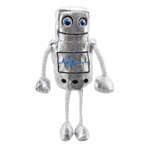 Robot Finger Puppet - souzu.co.uk