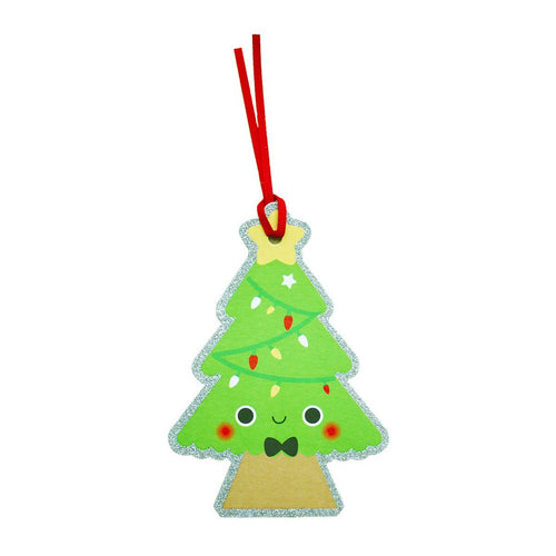 Christmas Tree Gift Tags Pack of 6 - souzu.co.uk