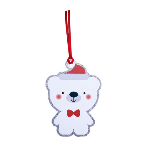 Bear Gift Tags Pack of 6 - souzu.co.uk