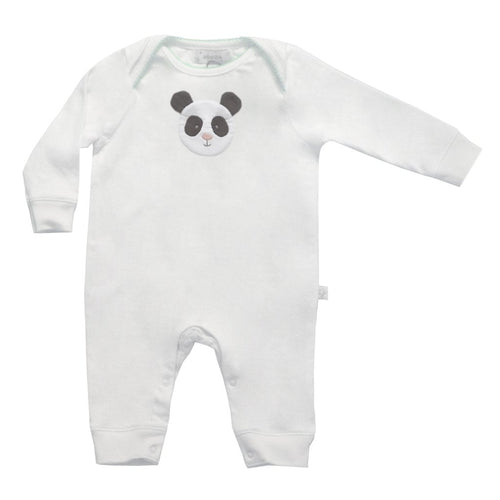 Long Sleeved Panda Babygrow - souzu.co.uk