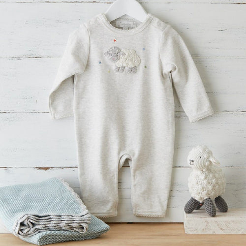 Crochet Lamb Babygrow - souzu.co.uk