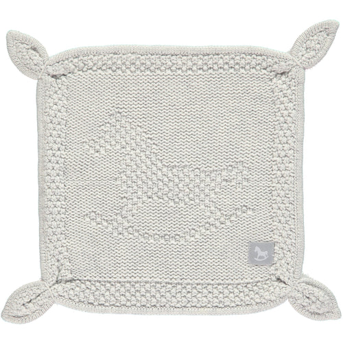 Rocking Horse Blankie - Grey - souzu.co.uk